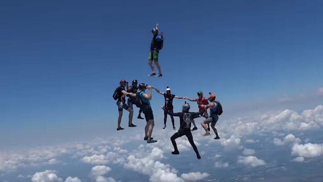 Σκοπός ζωής: Να κάνεις ελεύθερη πτώση και να μπαίνεις... τρίποντο!