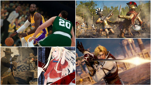 5 video games για να επενδύσεις το «κάψιμο» του Οκτώβρη