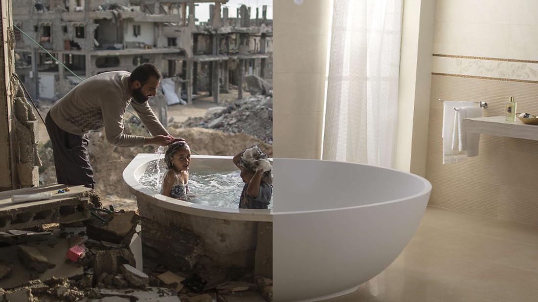 12 φωτογραφίες που δείχνουν την απόλυτη αντίθεση του κόσμου που ζούμε