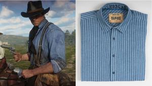 Θα φορούσες τα πουκάμισα του Arthur Morgan;