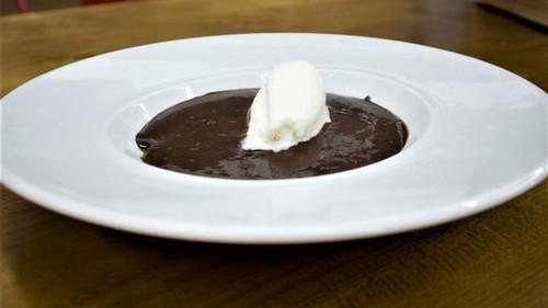 Κρεμ μπρουλέ με σοκολάτα και μπανάνα