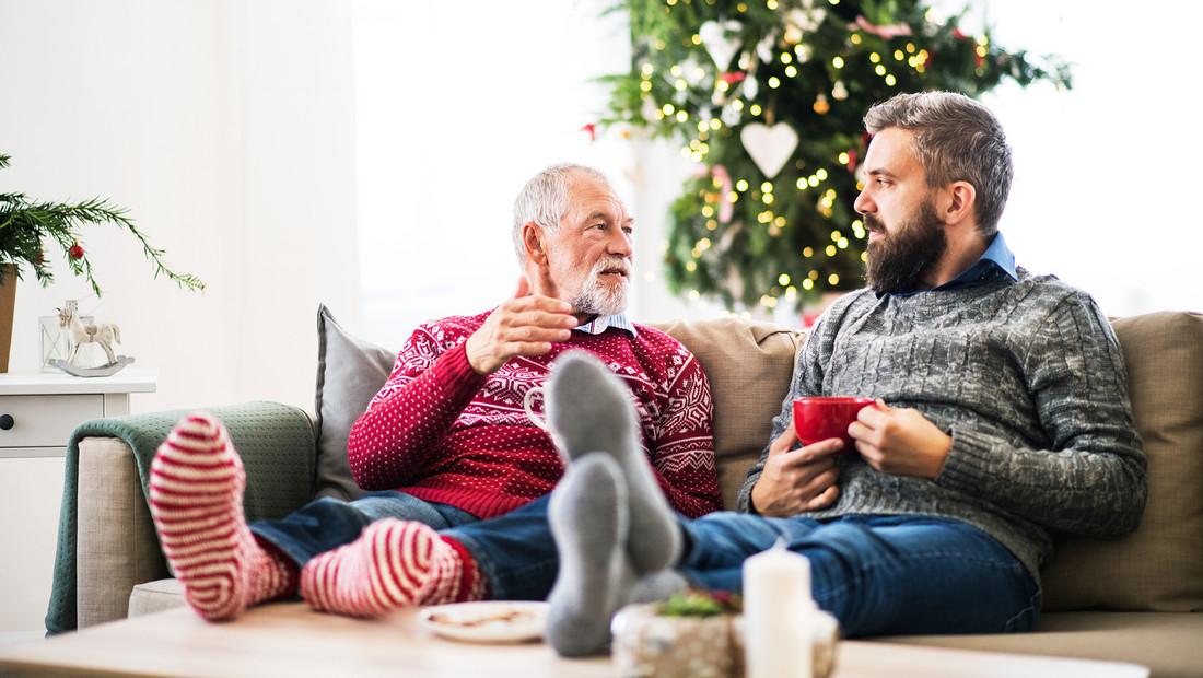 Δεν χρειάζεται να είναι Χριστούγεννα για να περάσεις χρόνο με τον πατέρα σου