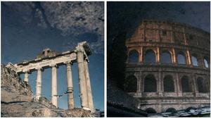 Ο φωτογράφος που χώρεσε την Ρώμη μέσα σε μερικές λακκούβες νερού