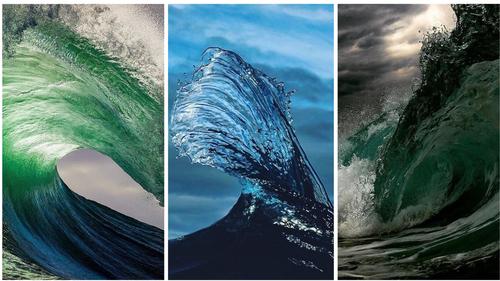 «Αιχμαλωτίζει» κύματα και φτιάχνει αριστουργήματα