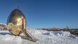 Στη βορειότερη πόλη της Σουηδίας ξέρουν από πρωτότυπες σάουνες
