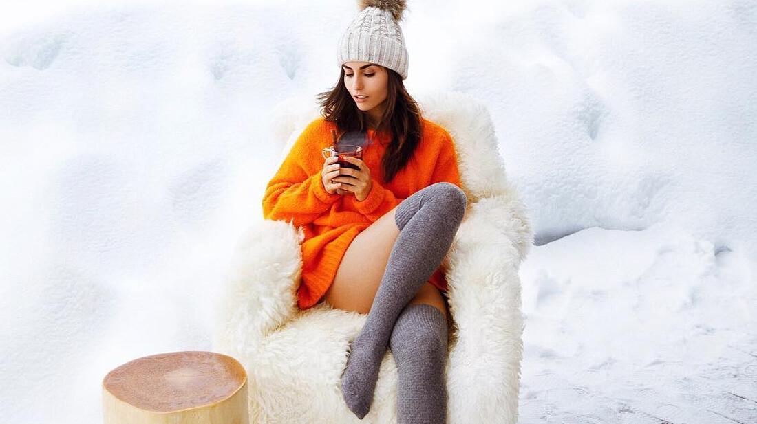 Η σέξι εκδοχή του χειμώνα προσωποποιημένη από την Ιρίνα