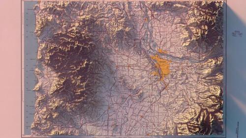 Τρισδιάστατοι χάρτες έρχονται για να καλύψουν το κενό στον τοίχο του σαλονιού σου