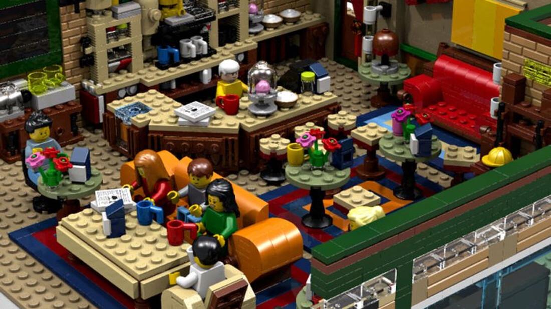 Το Central Perk από τα «Φιλαράκια» έγινε χίλια κομμάτια