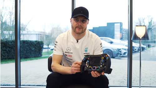 Η μαγεία ενός τιμονιού της Formula 1