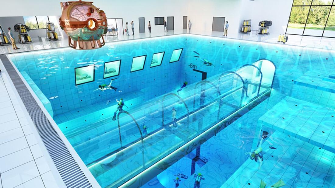 Η πιο βαθιά πισίνα στον κόσμο είναι στην Πολωνία