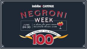 Negroni Week 24-30 Ιουνίου 2019:  Απολαμβάνουμε το αγαπημένο μας Negroni με Campari για καλό σκοπό!